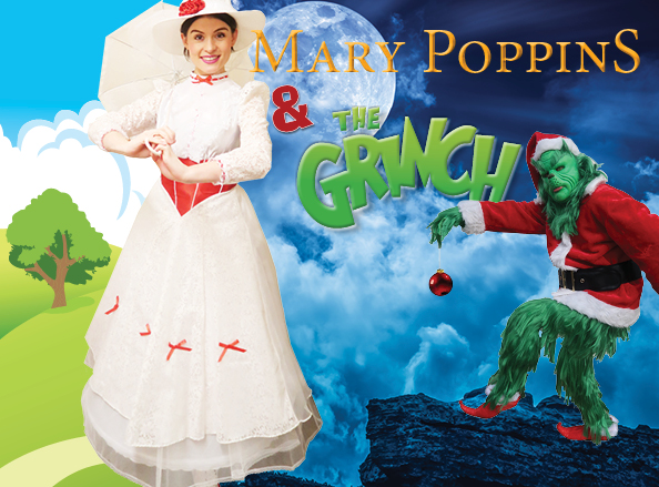 Mary Poppins and The Grinch Offer Image